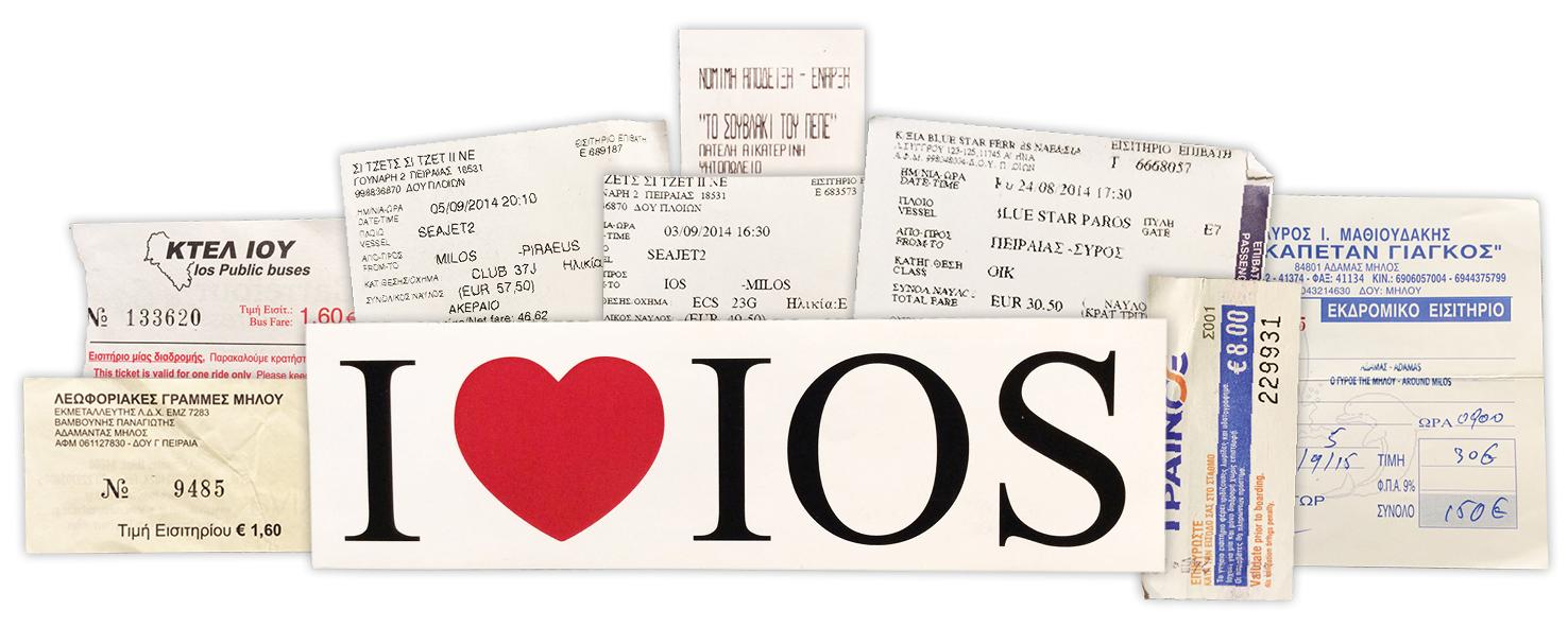 tickets de ferry pour l'île de Ios dans les Cyclades