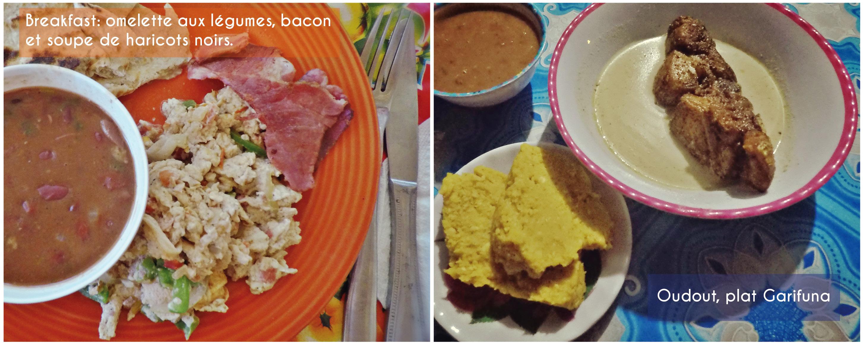 belize, cuisine, plats, garifuna, manioc, banane, poisson, haricots