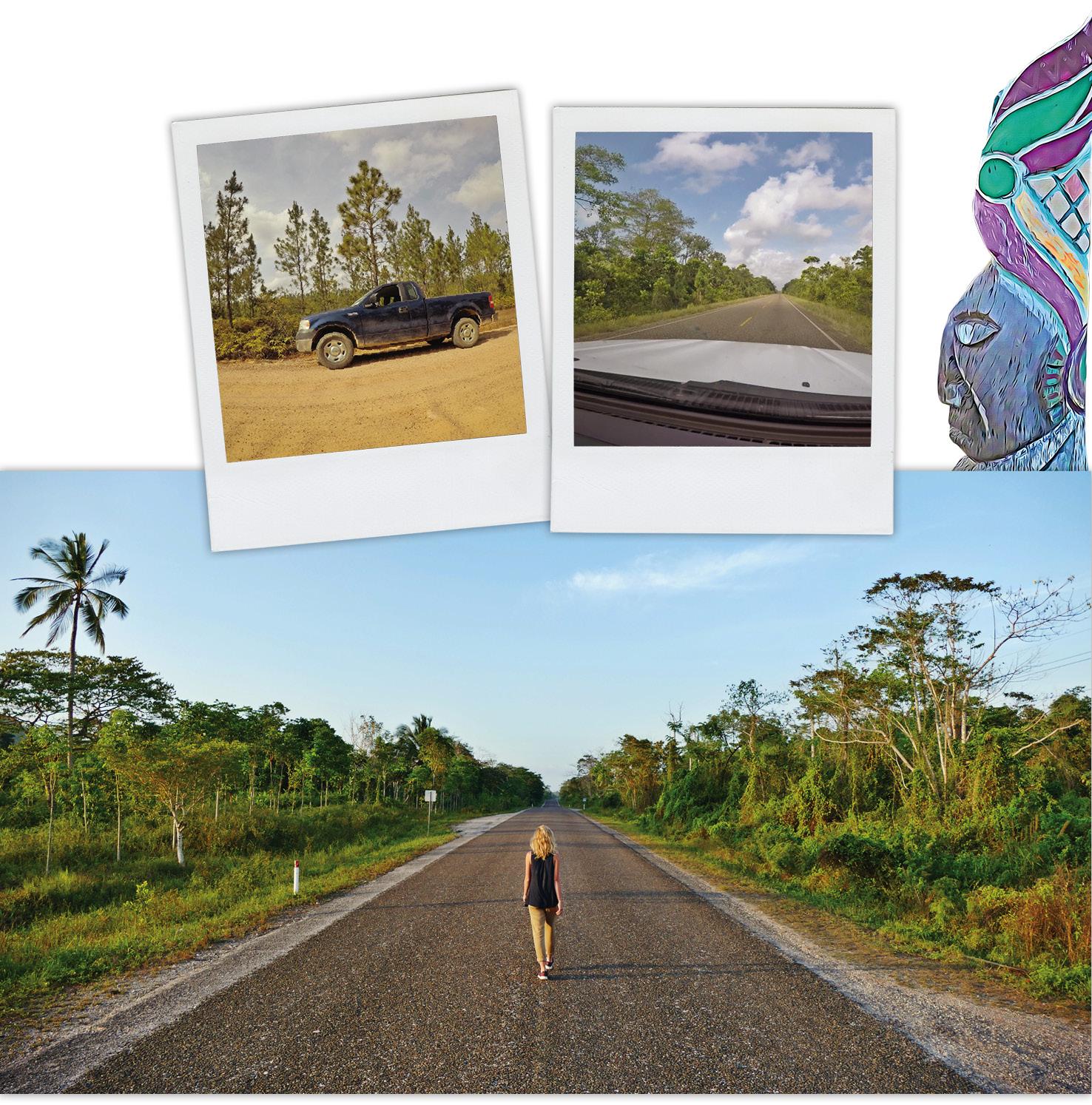 belize, voyage, road trip, temple, mayas, jungle, montagne, caracol, lubaantun
