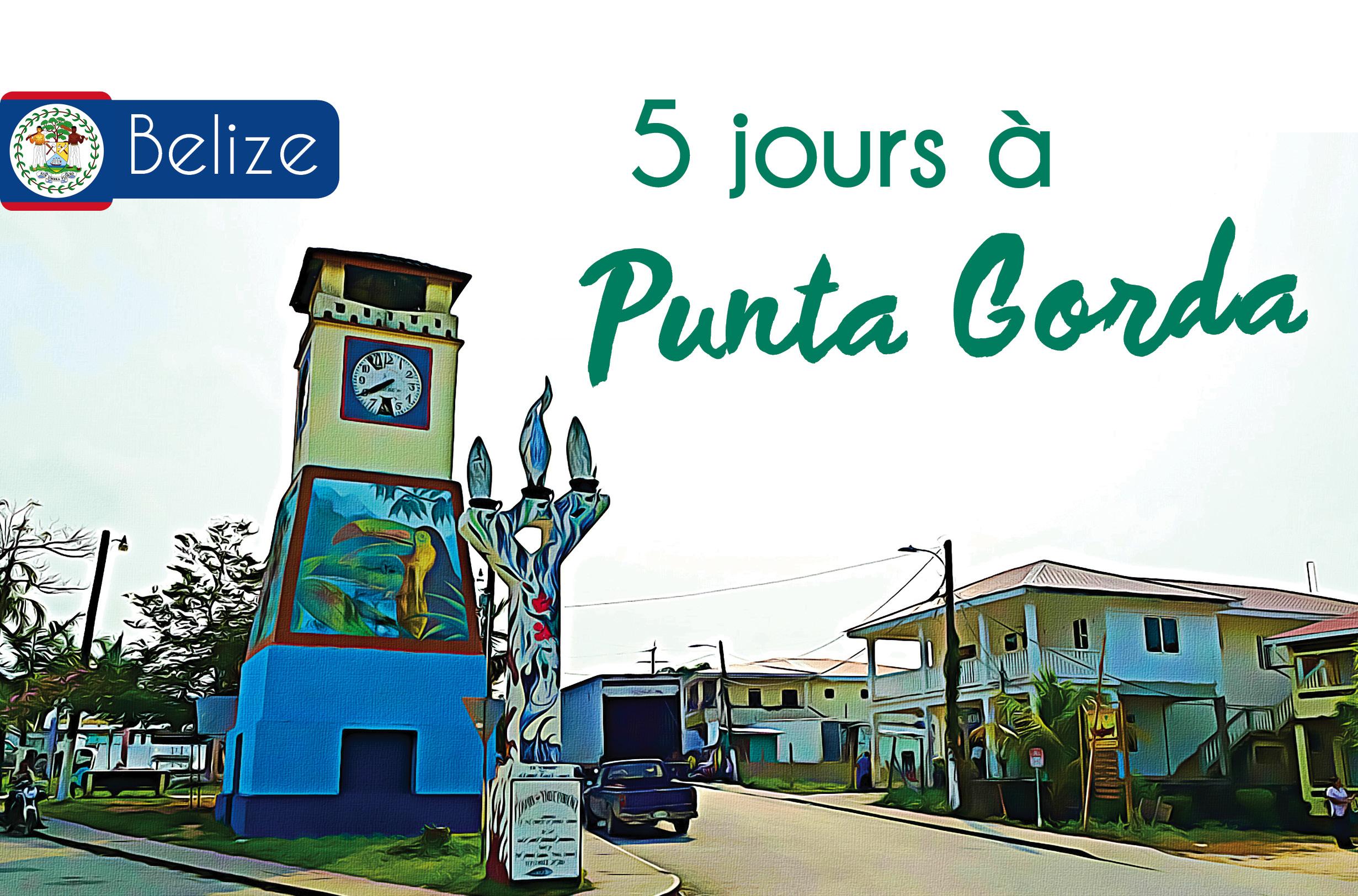 voyage dans les caraïbes au Belize à Punta Gorda