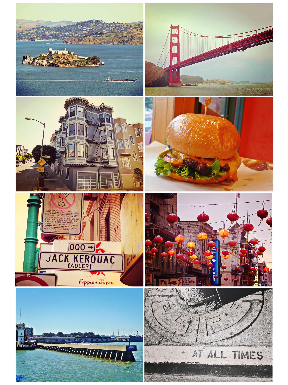 usa, california, san francisco, golden gate bridge, pier, voyage, staarts, alcatraz