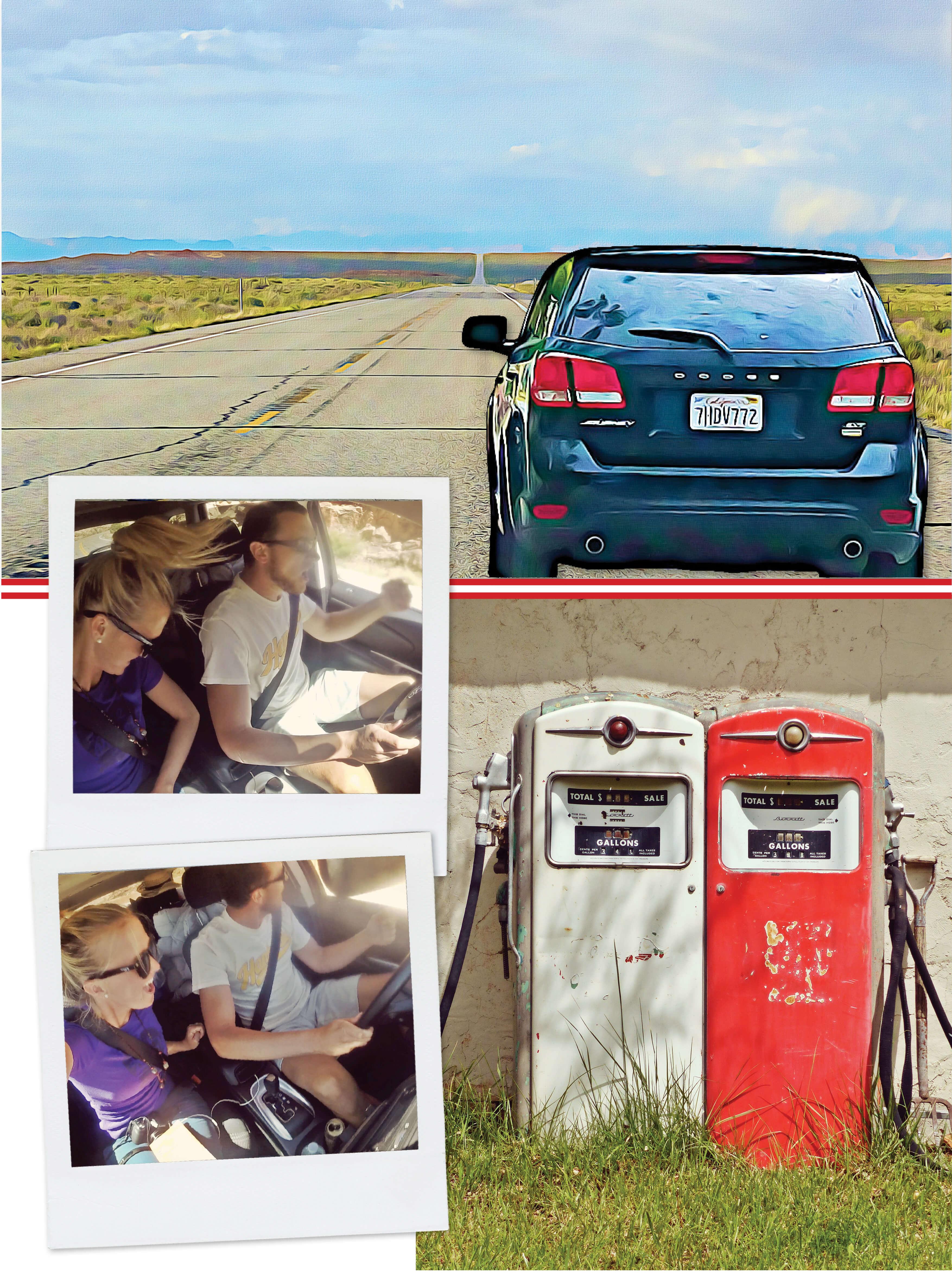 usa, utah, road trip, voiture, pompe a essence, voyage