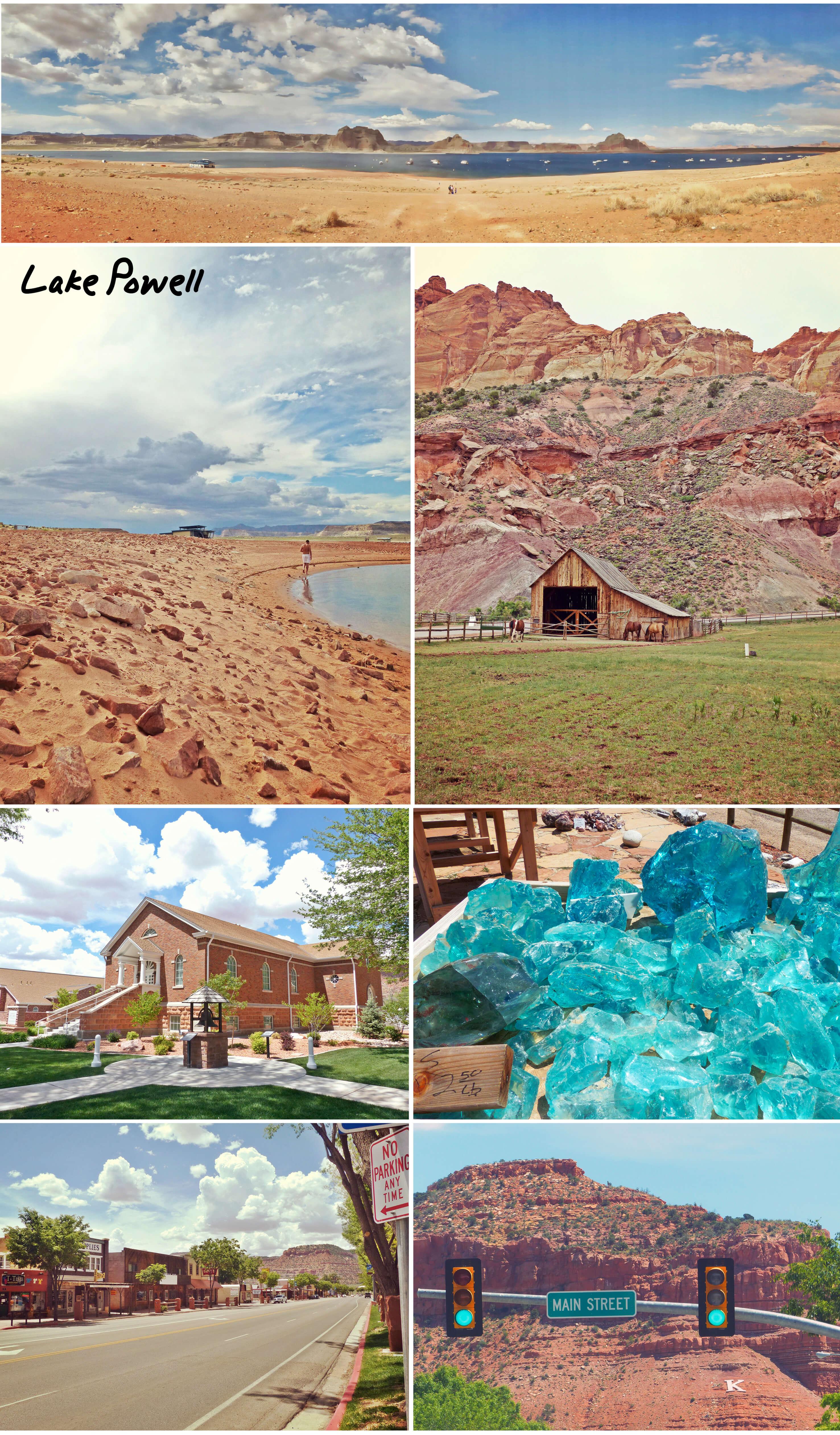 usa, utah, road trip, kanab, moab, page, lac Powell, voyage