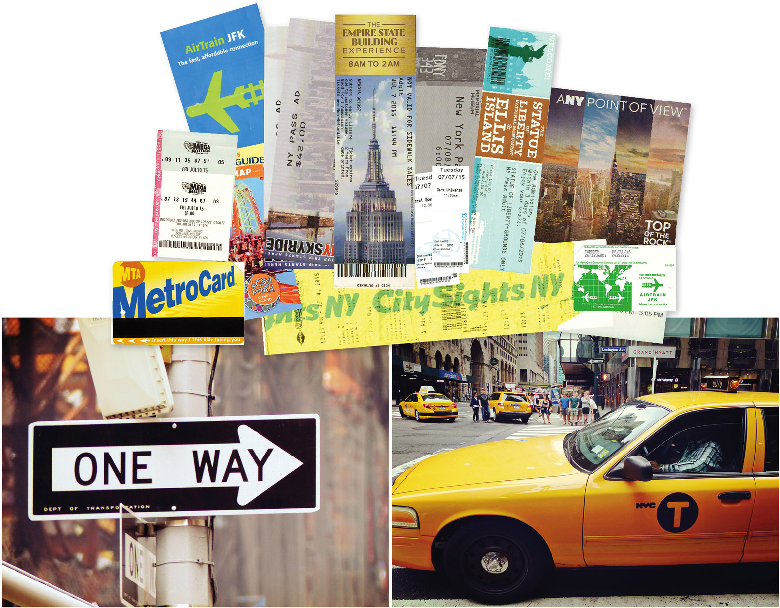 usa, New York, nyc, taxi jaune, voyage, road trip