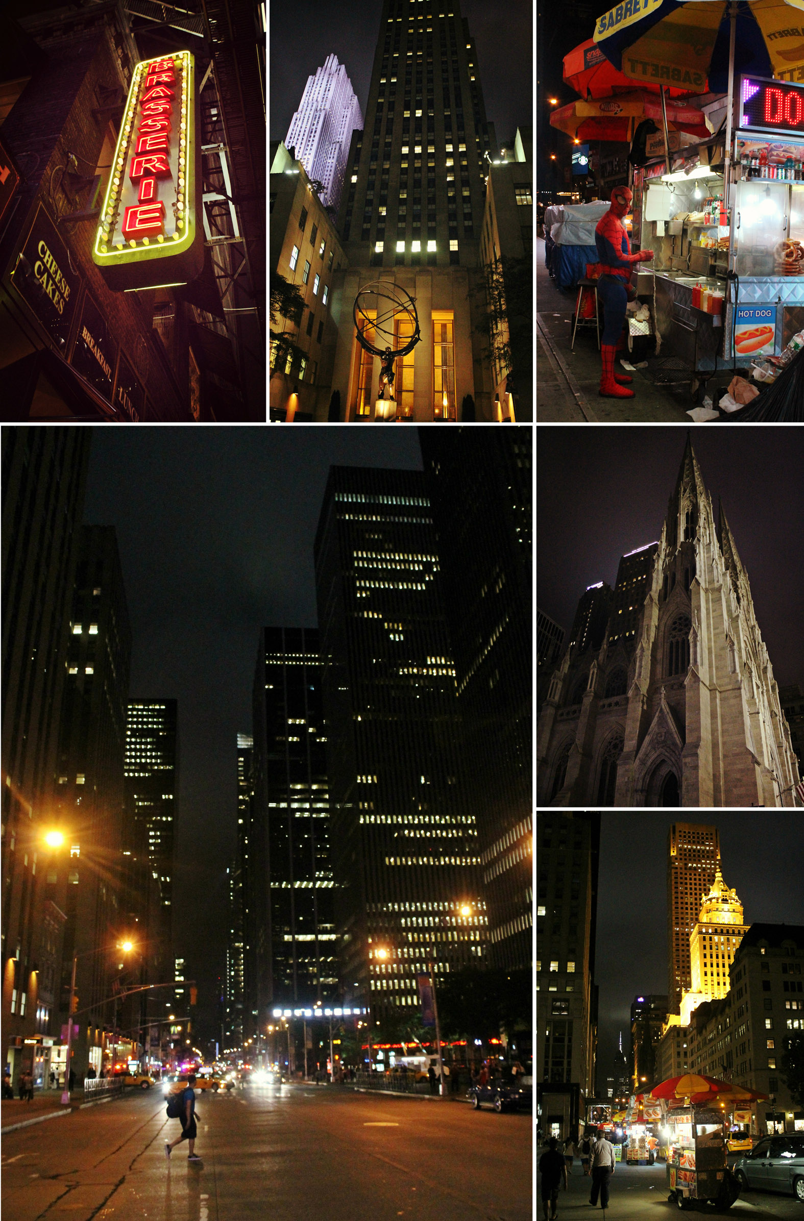 usa, New York, nyc, night, Rockefeller, voyage, road trip