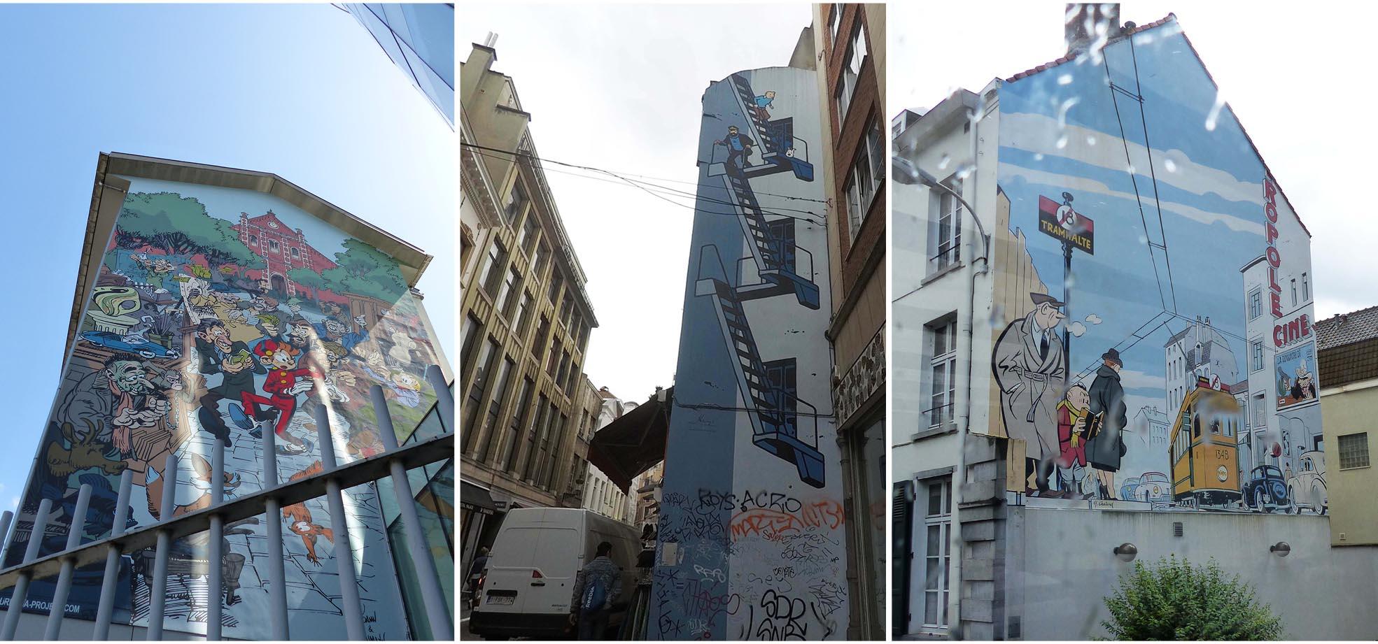 Bruxelles, europe, Belgique, street art, art, immeuble