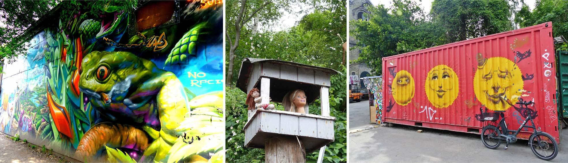 copenhague, danemark, Denmark, voyage, europe, christiania, velos, hippies, street art, art, tag