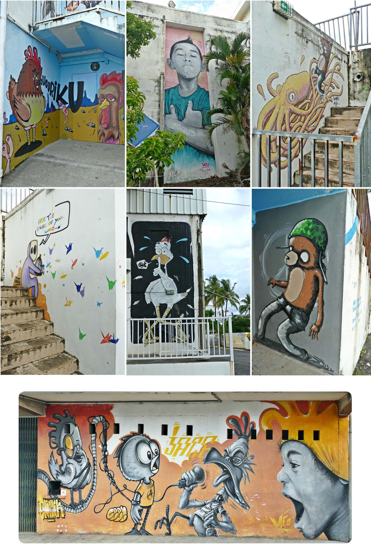 la réunion, la reunion, île, ile, jace, artiste, art, street art, art de rue, peinture, Graf, graffiti, fresque, tag, bombes, couleurs, personnage, dessin, croquis, voyage, blog
