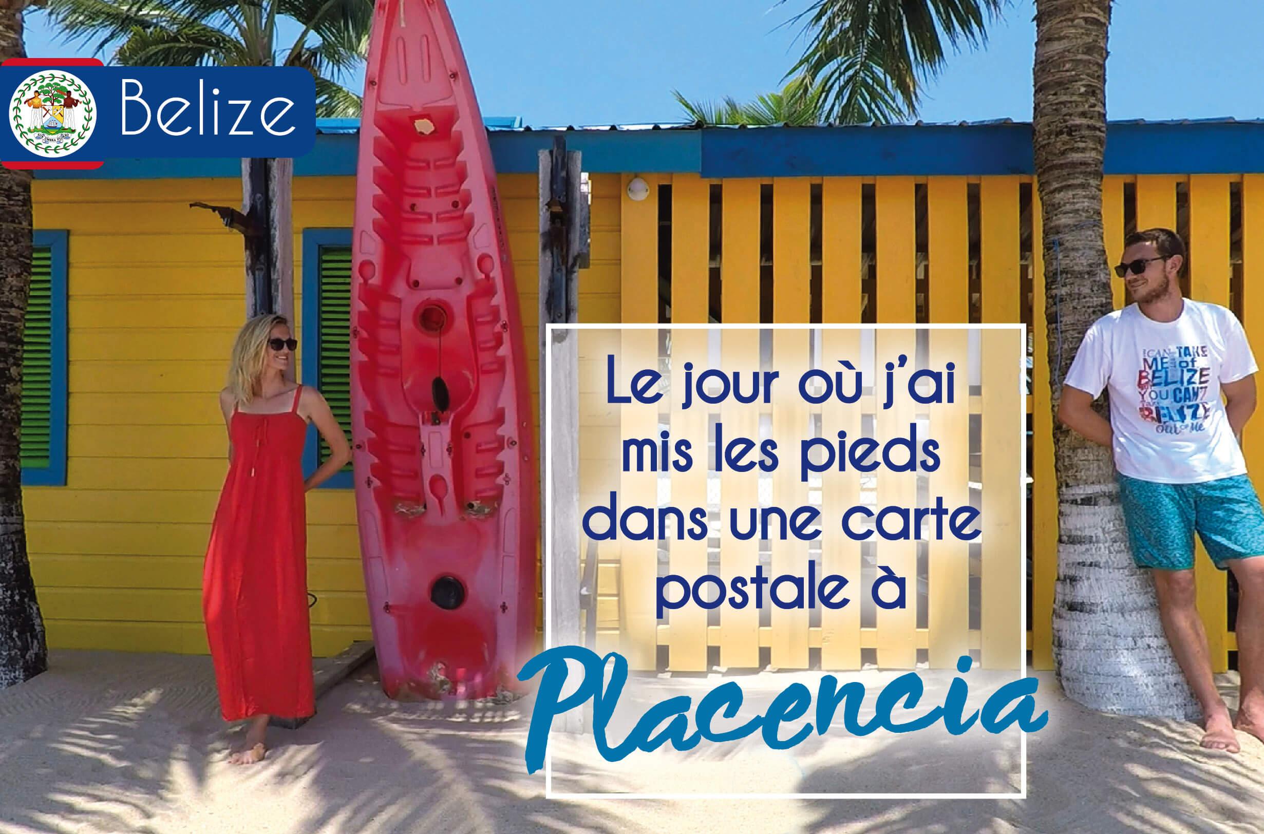 voyage dans les caraïbes au Belize à Placencia