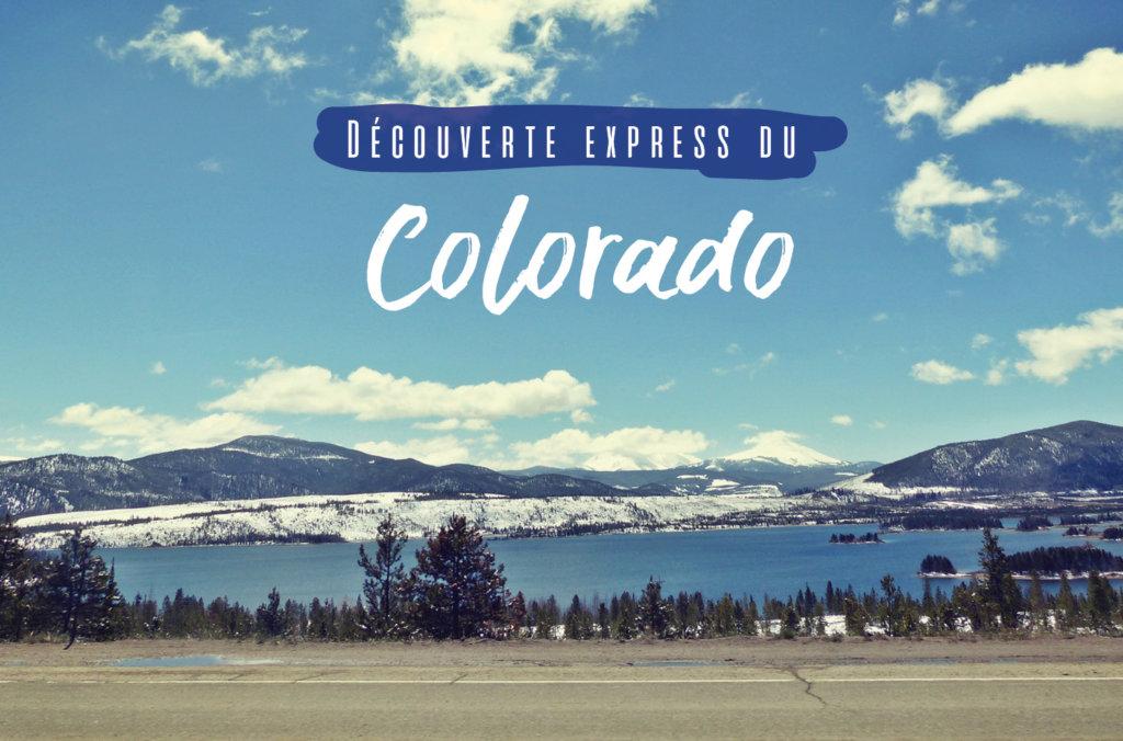 Denver Aspen Colorado Springs dans le Colorado usa