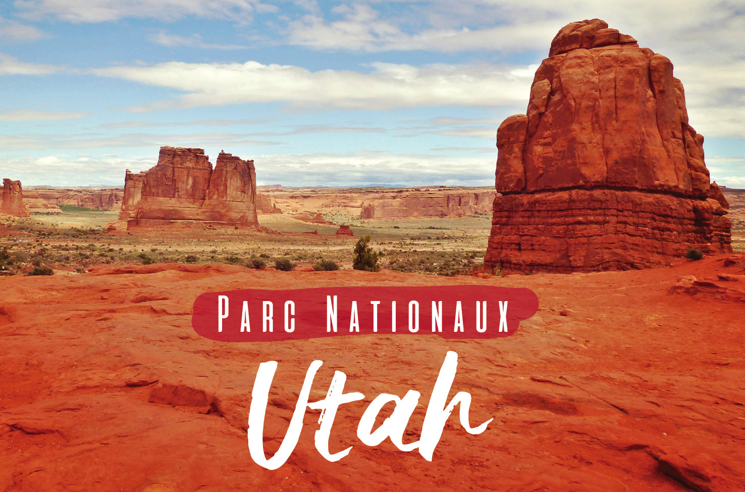 Les parcs nationaux de l'Utah usa