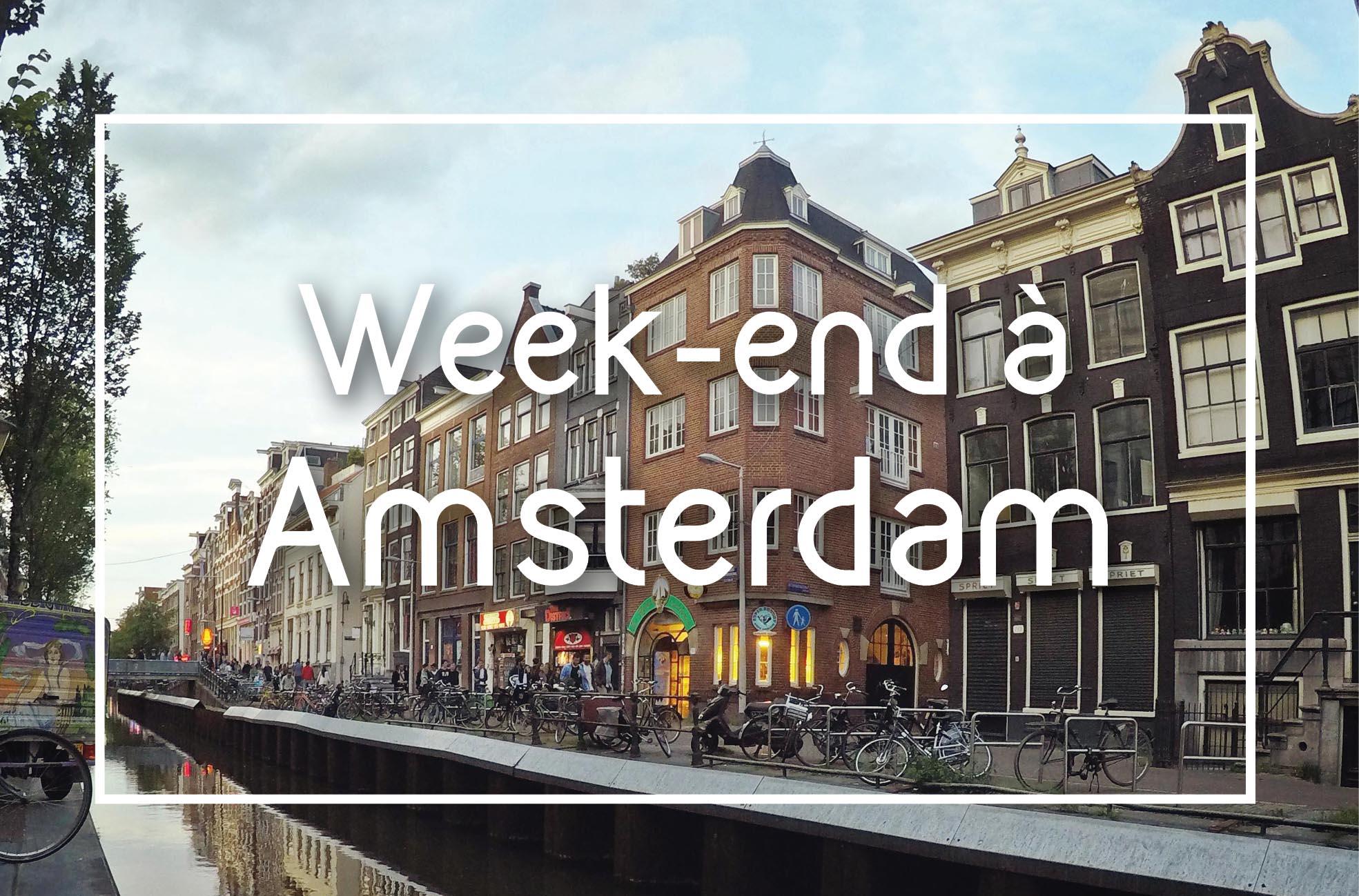Week-end à Amsterdam